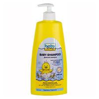 BABYLINE Шампунь Без слез для младенцев с помпой, 500 мл(А)