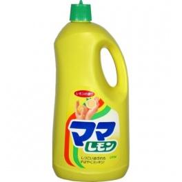 "LION  Средство для мытья посуды "" Мama Lemon"" с ароматом лимона, флакон, 2150 мл"