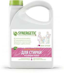 Synergetic Гель для стирки белья, универсальный, 2,75 л