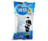 LIFE-DO    Влажные салфетки для мужчин (охлаждающие, с ароматом ментола и цитруса) (190 х 200 мм) 15шт.
