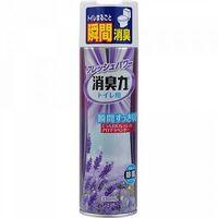 """ST Освежитель воздуха  д/туалета """"SHOSHURIKI"""" (аэрозоль с антибактериальным эффектом """"Лаванда и травы"""") 330мл."""