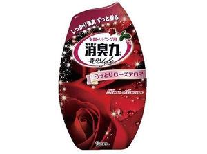 """ST   Жидкий освежитель воздуха для комнаты """"SHOSHURIKI"""" (с восхитительным ароматом розы), 400мл."""