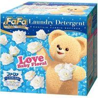 NISSAN Fa Fa   Концентрированный стиральный порошок с кондиционером для детского белья, с цветочным ароматом, коробка 900г.