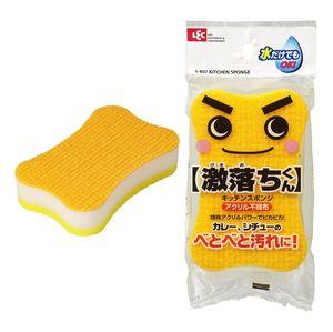 LEC   Полиуретановая губка для мытья посуды средней жесткости (с чистящей поверхностью из нетканого акрилового полотна)