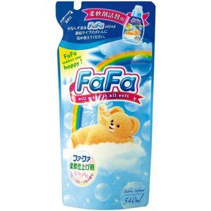 NISSAN FaFa    Детский концентрированный кондиционер для белья с цветочным ароматом «Прикосновение облака», М/У (запаска) 540мл.