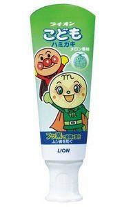 Lion Детская укрепляющая зубная паста у со вкусом дыни ( с первых зубов), тюбик 40гр.