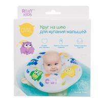 ROXY-KIDS Круг надувной на шею для купания малышей Owl (А)