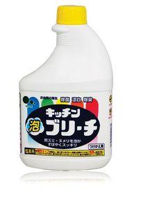 MITSUEI  Универсальное моющее и отбеливающее средство для кухни, флакон под распылитель (запаска), 400мл