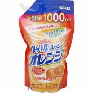 MITSUEI  Средство для мытья посуды, овощей и фруктов (аромат апельсина), М/У с крышкой 1000мл.