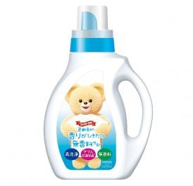 NISSAN Fa Fa.     Детское жидкое средство для стирки белья с антибактериальным эффектом без ароматизаторов (подходит для младенцев и аллергиков), флакон с дозатором  1кг. (А) (+)