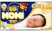 MOMI Premium Night подгузники-трусики L( 9-14 кг), 30 шт (А)