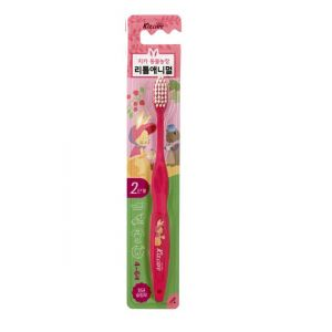 MUKUNGHWA  Зубная щётка Kizcare для детей от 4 до 6 лет (для чистки родителями и самостоятельной чистки, мягкая) 1шт.