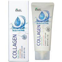 EKEL HAND CREAM COLLAGEN  Увлажняющий и восстанавливающий крем для рук с Коллагеном, для всех типов кожи 100мл.