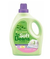 "CJ Lion Кондиционер для белья ""Soft Beans"" на основе экстракта зеленого гороха, флакон, 1,5л"