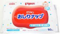 PIGEON Детские влажные салфетки с лосьоном, запасной блок, 80 шт (А)