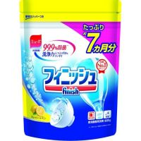 EARTHCHEMICAL  Порошок для посудомоечных машин Finish Power&Pure с ароматом лимона 900гр.