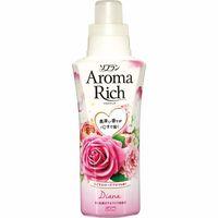 """LION Aroma Rich Кондиционер для белья """"Diana""""с натуральными маслами розы, персика, малины, ванили, флакон 550 мл (А)"""