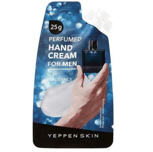 DERMAL YEPPEN SKIN  Perfumed Hand cream for man Парфюмированный увлажняющий крем для рук с чувственным ароматом для всех типов кожи (мужская серия) 20г.