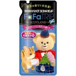 NISSAN Fa Fa  SCOTLAND  Детский кондиционер-ополаскиватель с антибактериальным эффектом ароматного мыла, запаска 650 мл. (А)