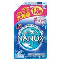 """LION """"TOP Super NANOX""""    Гель для стирки (концентрированный) МУ,  запаска 660мл."""