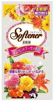 """NIHON  """"Softener Fragrance elegant bouquet""""  Кондиционер для белья (с антибактериальным эффектом и элегантным богатым ароматом роз)  МУ, запаска  500мл"""