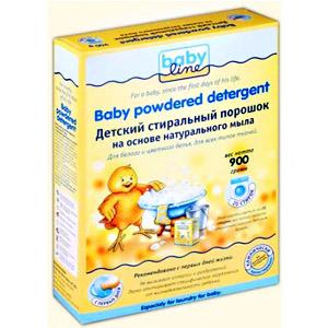 BABYLINE Детский стиральный порошок на основе  натурального мыла. Концентрат 0,9 кг=3,6 кг=20 стирок (А)