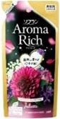 "LION   ""Soflan Aroma Rich Juliette"" (Джульетт)   Кондиционер для белья с богатым ароматом натуральных масел  (м/у),  запаска 430 мл"