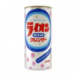 """Lion  """"White cleanser""""  Универсальный чистящий порошок для кухни и ванной комнаты , лимон,  400гр."""