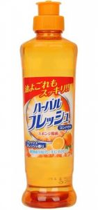 MITSUEI  Концентрированное средство для мытья посуды, овощей и фруктов (аромат апельсина) 250 мл.