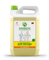 Synergetic Средство концентрированное для мытья посуды и фруктов ЛИМОН, флакон, 5 л (А)