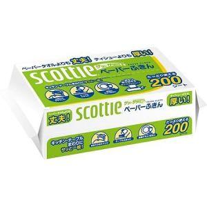 """NIPPON  Бумажные кухонные полотенца Crecia """"Scottie"""" двухслойные 200шт."""