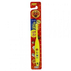 """LION  Детская зубная щетка """"Anpanman"""" с КОМПАКТНОЙ головкой для САМОСТОЯТЕЛЬНОЙ чистки зубов (от 1.5 до 5 лет, средней жесткости) 1шт."""