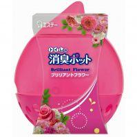 """ST """"SHOSHU-POT """"  Гелевый освежитель воздуха  для комнаты и туалета «Цветы» 270гр."""
