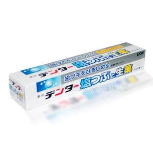 """LION """"Dentor""""   Лечебно-профилактическая зубная паста с экстрактами лекарственных растений и солью, для укрепления десен,  180 гр."""