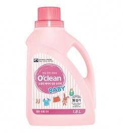 O'clean Baby Fabric Softener  Кондиционер-ополаскиватель для детского белья и одежды, флакон 1.8л.