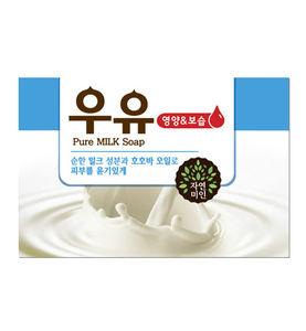 """Смягчающее мыло с молоком и маслом жожоба Pure Milk Soap"""""""""""