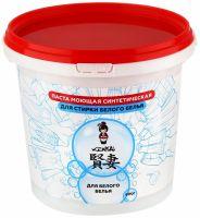 KENSAI Паста моющая синтетическая (стиральная паста) для стирки ,белого белья, 900 гр (А)