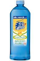"""Средство для мытья посуды """"Charmy V Quick""""  с натуральным маслом лимона, флакон (запасной блок) 400мл."""