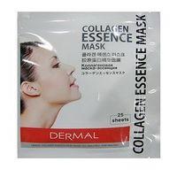 DERMAL Маска для лица с коллагеном и гиалуроновой кислотой (1 многоразовая упаковка на молнии) 25шт. в упаковке