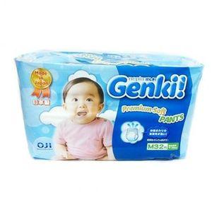GENKI Трусики для мальчиков и девочек M (7-10 кг) 32шт