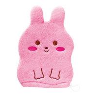 Деткая рукавичка для мытья KOKUBO Розовый кролик