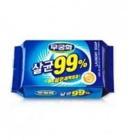Mukunghwa, Laundry Soap, мыло стериллизующее с повышенной отстирывающей способностью, кусок, 230гр.