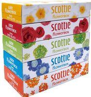 """Салфетки Crecia Scottie Flowerbox"""" (5 пачек) по 160 салфеток"""""""