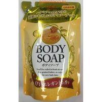 Увлажняющее крем-мыло для тела с медом 400 мл. Lion