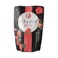 """NIHON  Премиальное крем-мыло для тела с маслом камелии """"Wins Camellia oil body soap"""" М/У 400мл."""