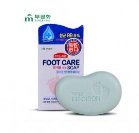 "MUKUNGHWA Мыло для ухода за кожей ступней ""Foot care soap"" 90г."""