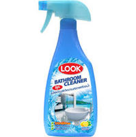 "LION ""LOOK""Средство чистящее для ванной комнаты, спрей, 500 мл (А)"