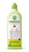 Synergetic Средство концентрированное для мытья посуды и фруктов ЯБЛОКО, флакон, 1 л(А)