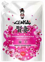 """KENSAI Кондиционер для белья с двойным эффектом """"Нежность весенней сакуры"""", 800 мл (А)"""