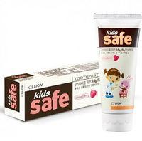 """CJ Lion Детская зубная паста """"Kids Safe"""" со вкусом клубники, от 3-х до 12 лет, 90 гр. (А)"""